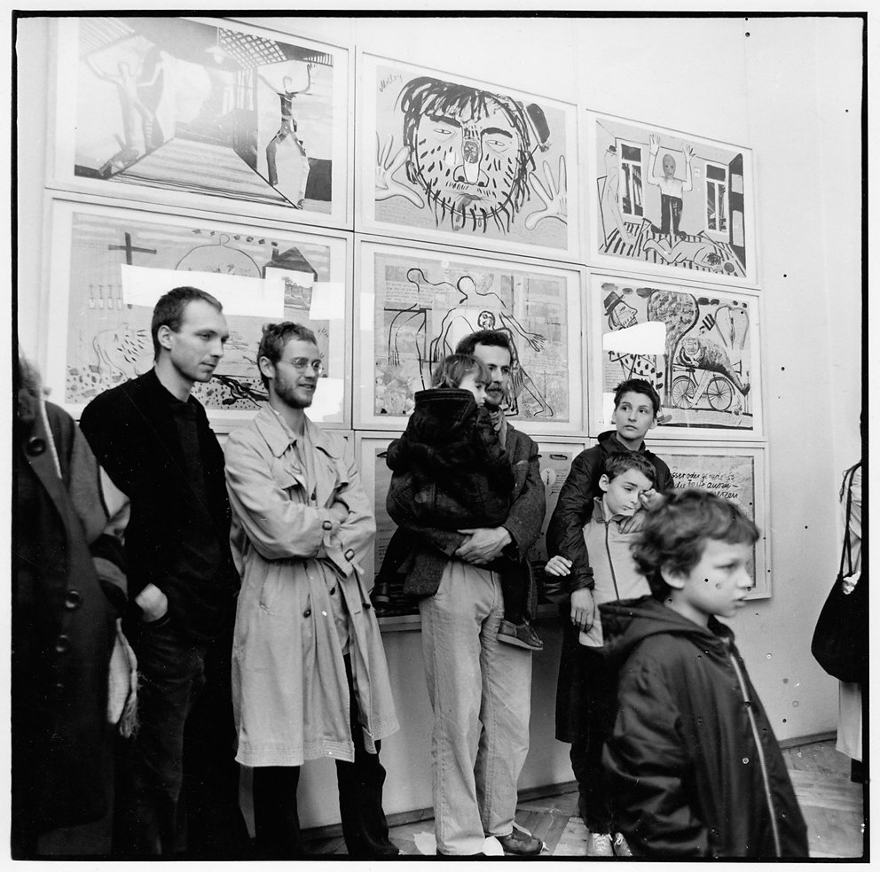 Ausstellung Galerie Nord, Dresden, 1985 /  © Th. Florschuetz