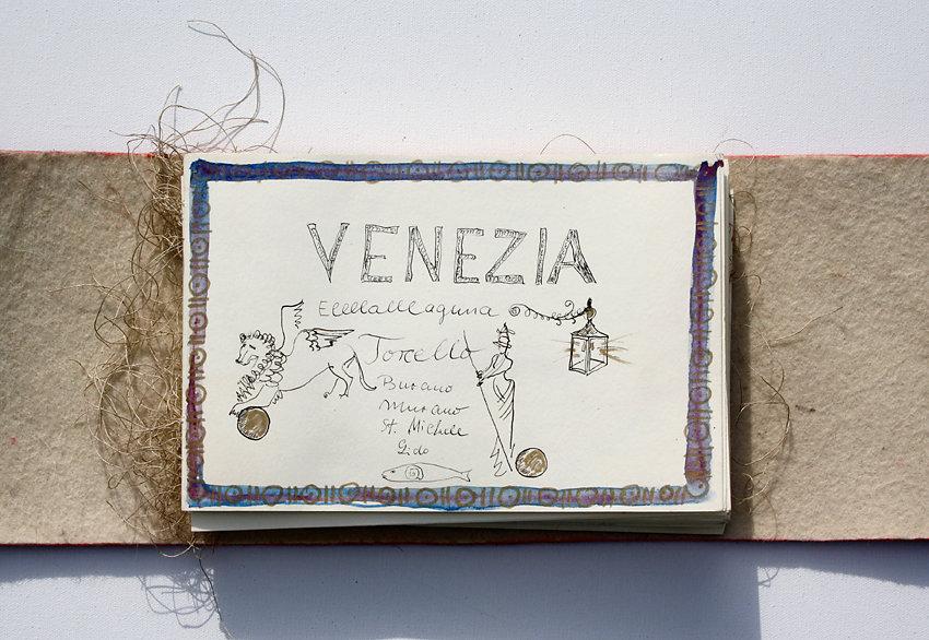 "Hand-Arbeits-Buch ""Venedig"", 2007"