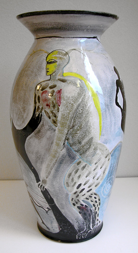 Bodenvase , Dryosen Keramikatelier Kattrin Kühn