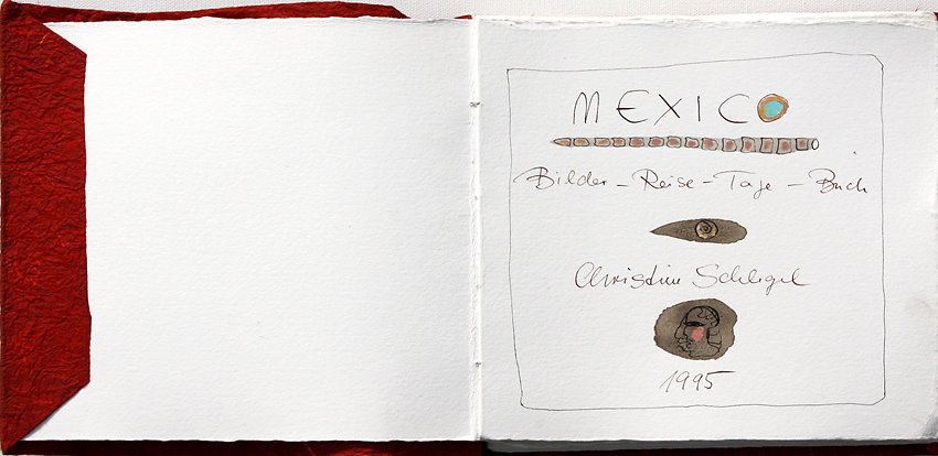 "Hand-Arbeits-Buch ""Mexico"", 1995"